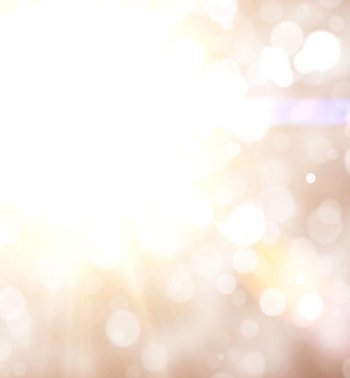 Defocused Fairy Lights Background